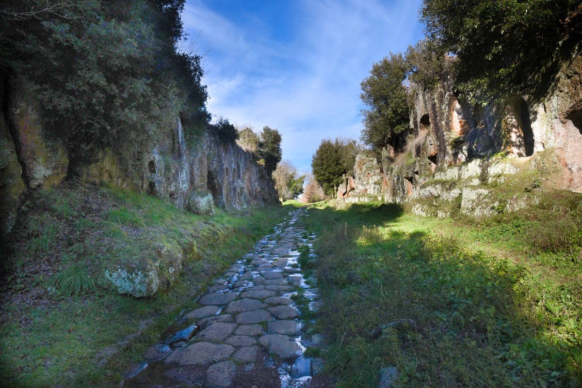 Antica Via Amerina - Photo Credit Sergio Mancini