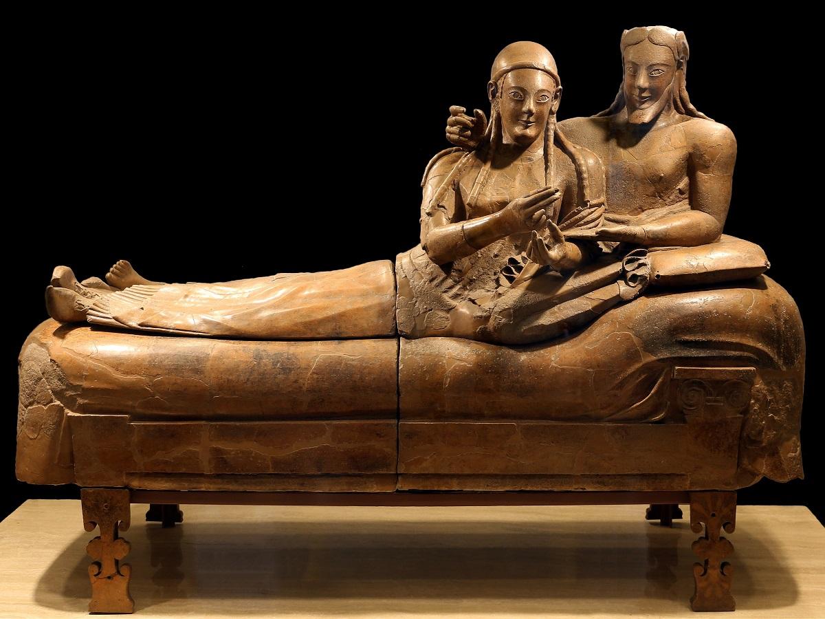 Sarcofago degli Sposi - Museo Nazionale Etrusco di Villa Giulia - Roma